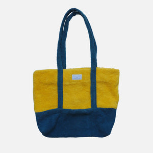 Beach Bag Yellow/Blue