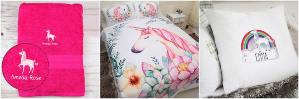 unicorn bedding cushion