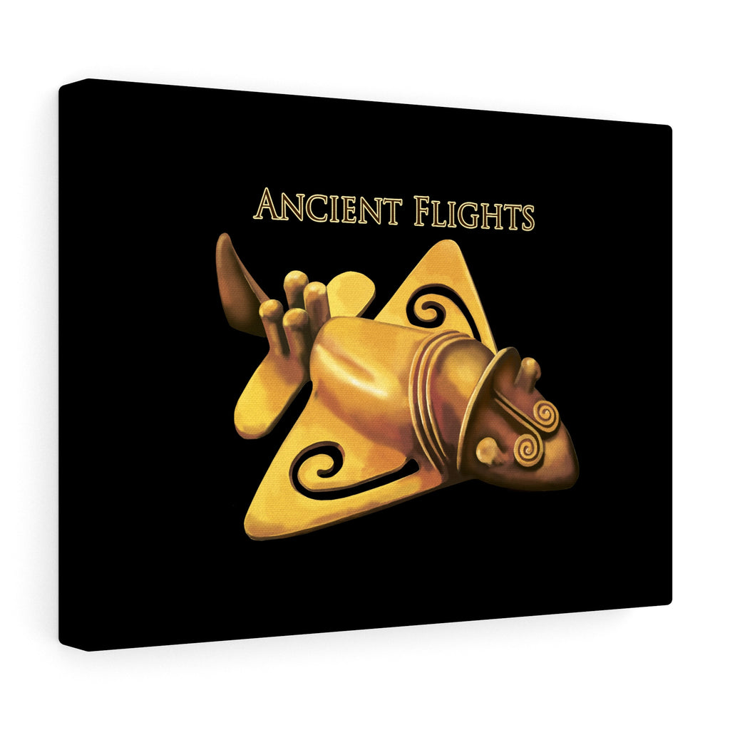 Ancient Flights - Stretched canvas - Art