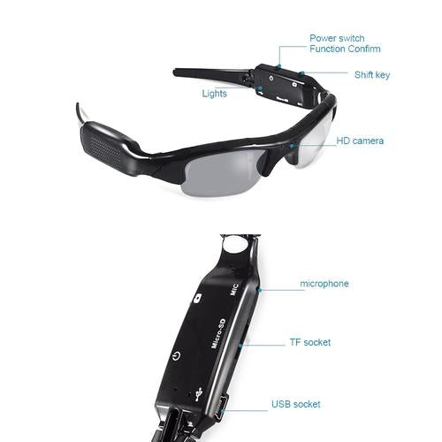 Action Video Recording Sunglasses
