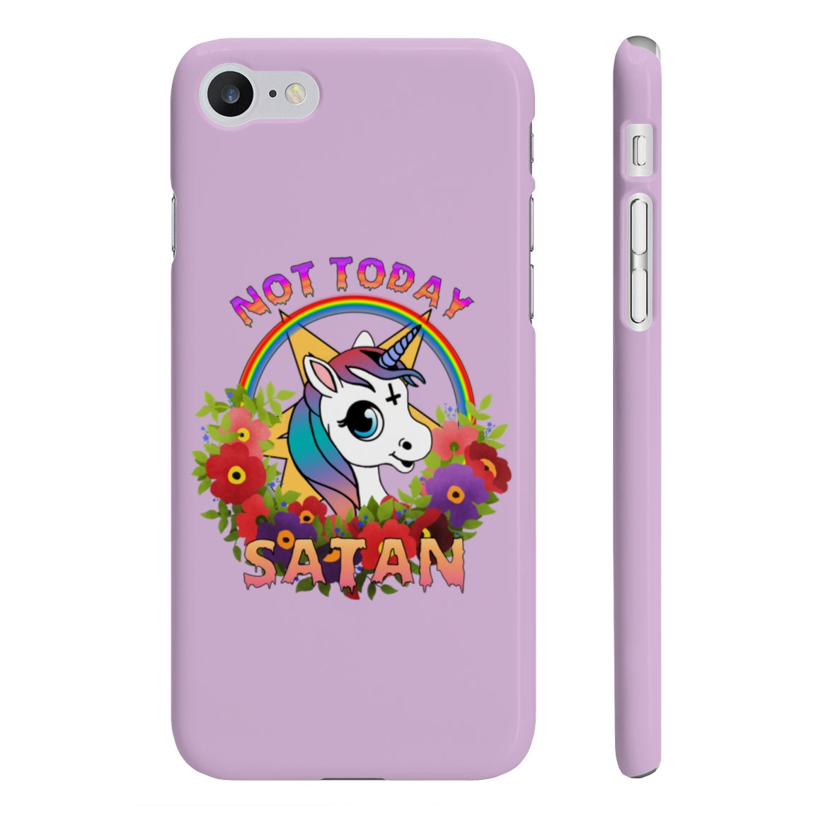 Not Today Satan - Phone Cases