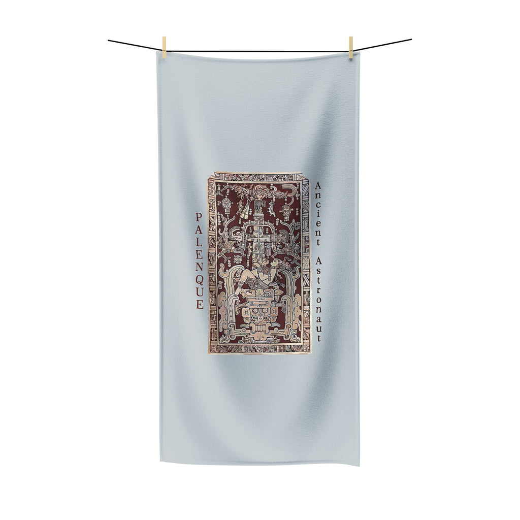 Ancient Astronaut - Palenque - Polycotton Towel