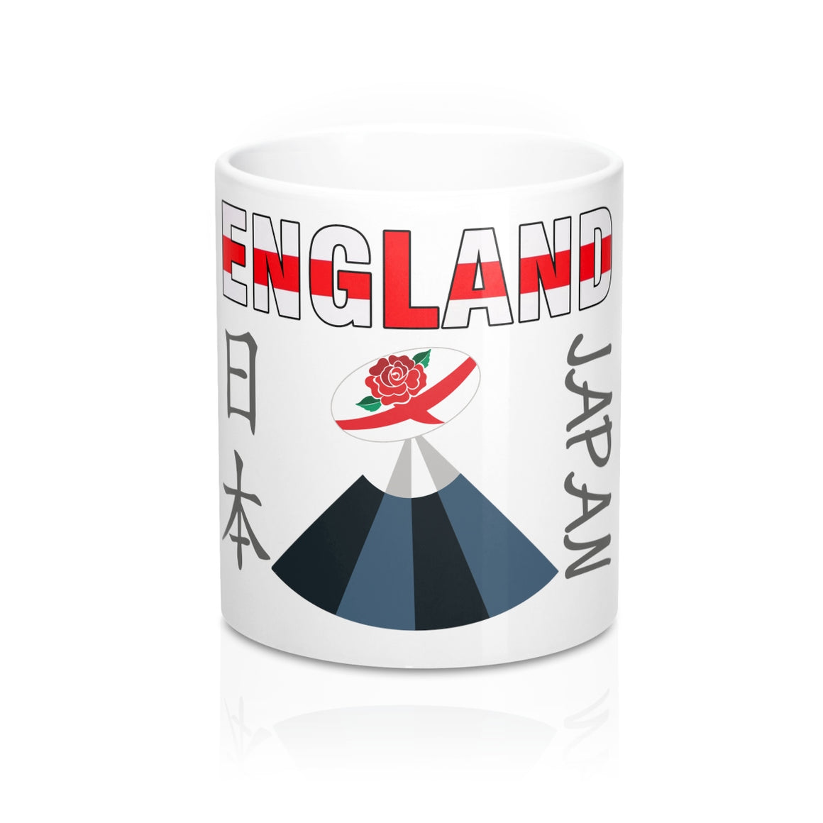 England Rugby World Cup 2019 Japan Mug 11oz White