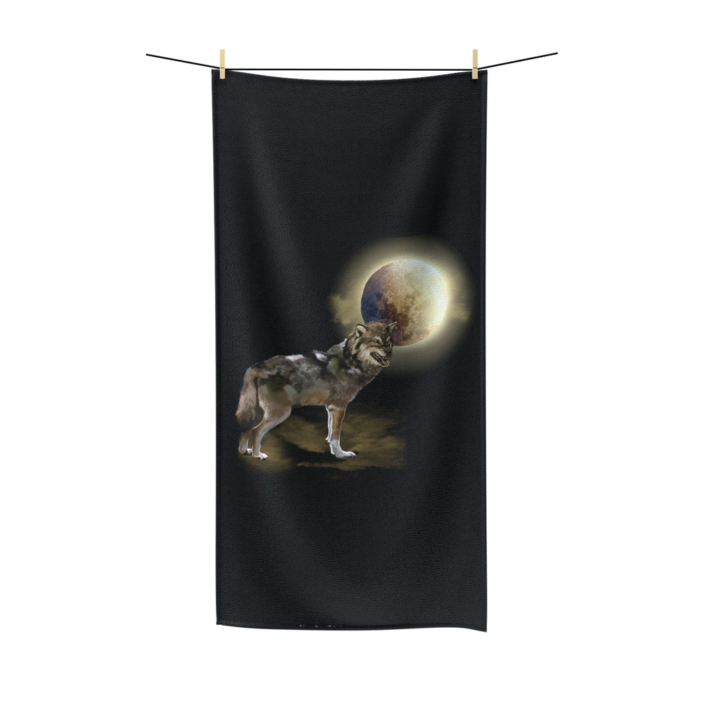 Wolf & Moon - Polycotton Towel