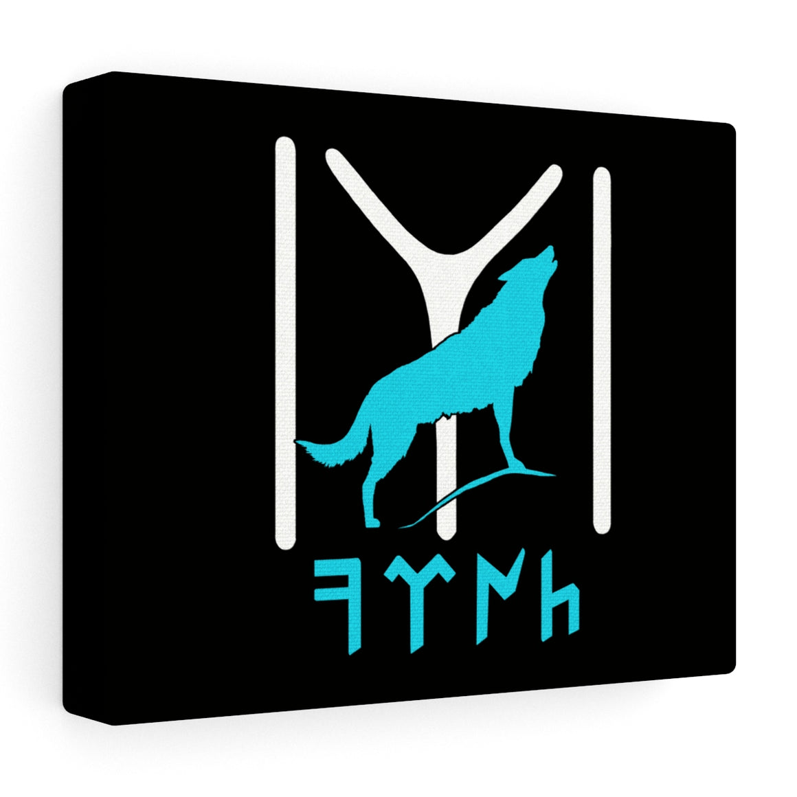 Kayi Tribe - Wolf- Stretched canvas - Art