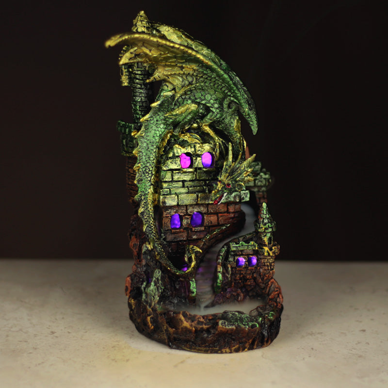 Dragon Castle Backflow Incense Burner