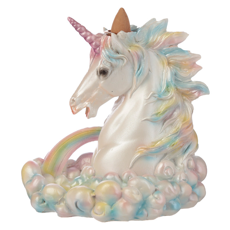 Rainbow Unicorn Backflow Incense Burner