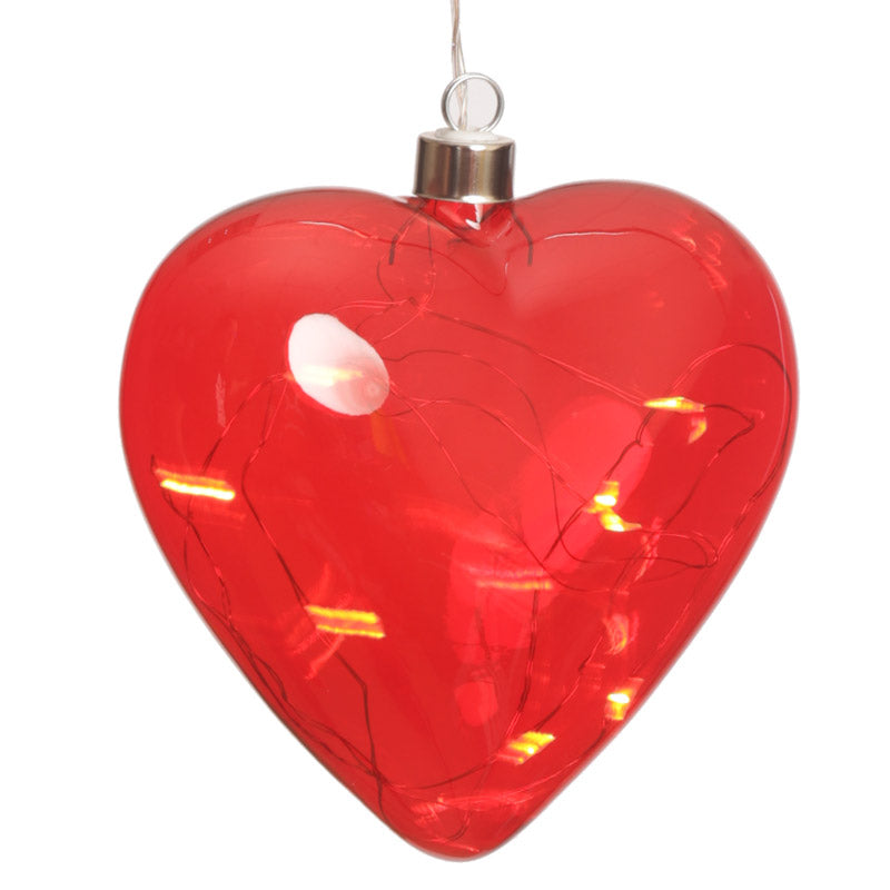 Coloured LED Balloon Hanging Decoration - Small