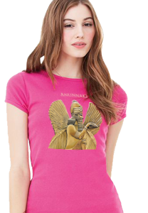 Anunnaki Women's Fitted T-Shirts