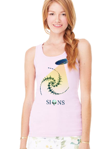 Signs Women's Fitted T-Shirts