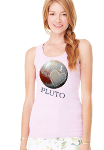 I Love Pluto - Women's Longer Tank