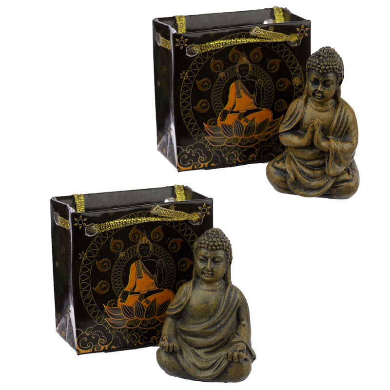 Mini Thai Buddha Statue in a Gift Bag