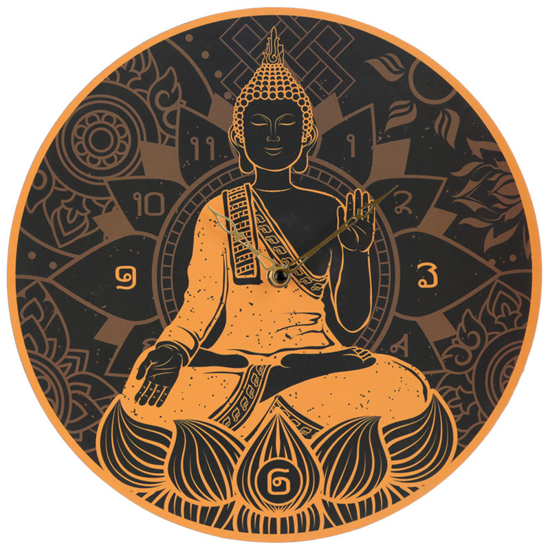 Decorative Buddha Feng Shui Wall Clock