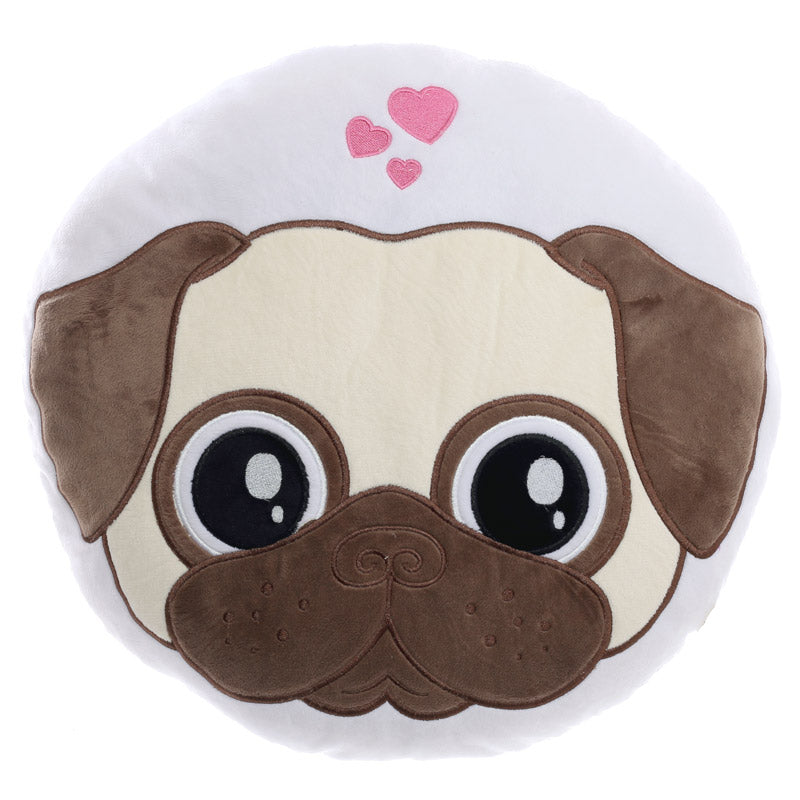 Large Pug Cushion