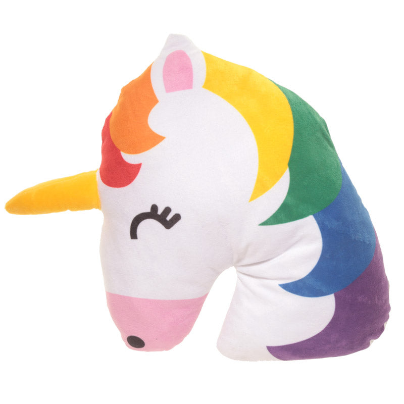 Rainbow Unicorn Emotive Cushion