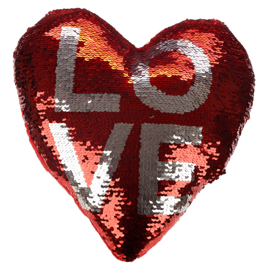 Love Magic Sequin Cushion