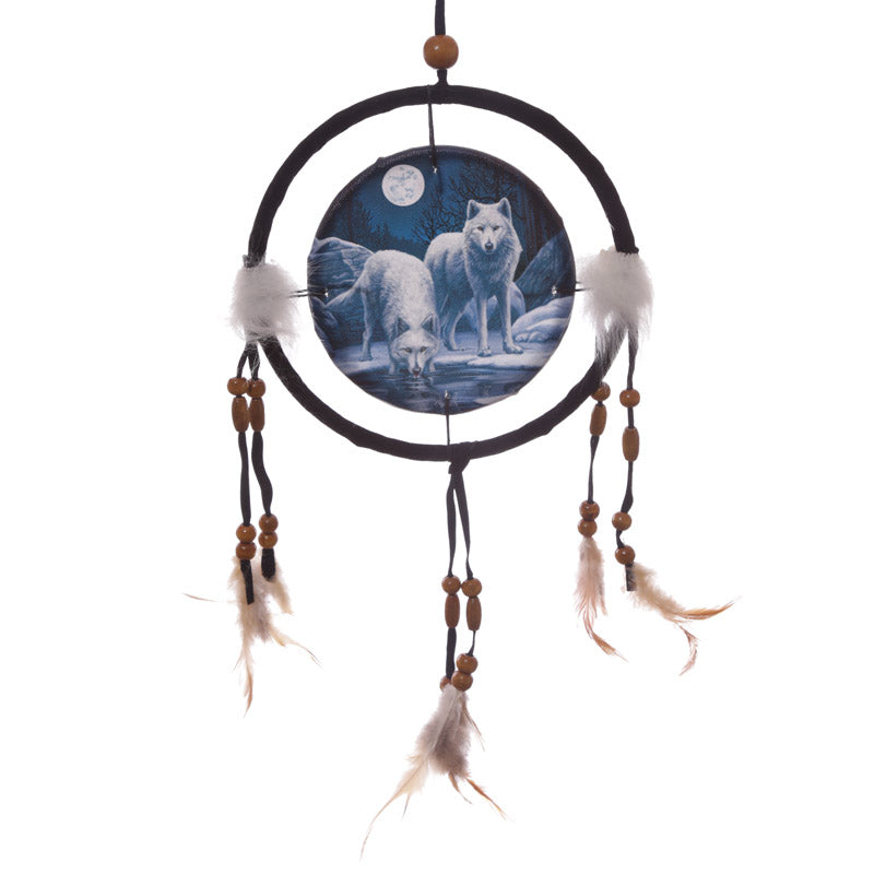 Decorative Wolf Warriors of Winter Dreamcatcher