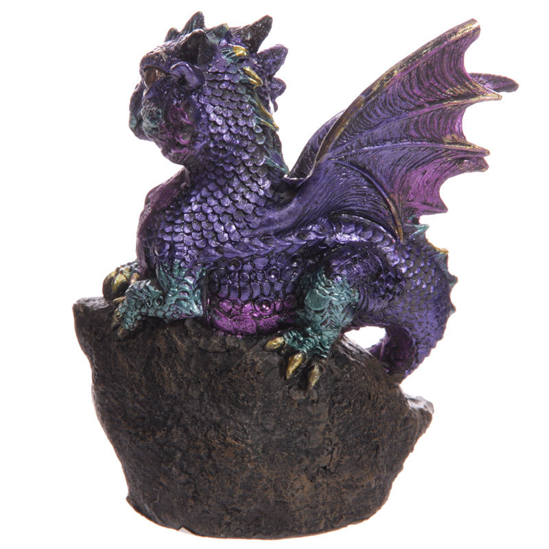 Baby Crystal Cave Cute Dragon Figurine