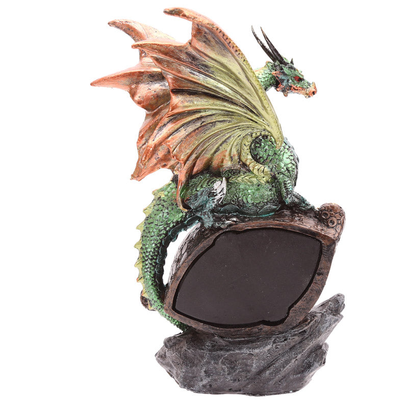 Decorative Fantasy LED Dragon Eye Figurine