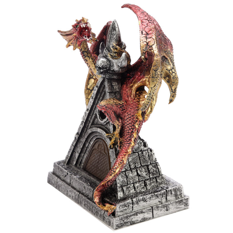 LED Mystical Protector Dark Legends Dragon Figurine