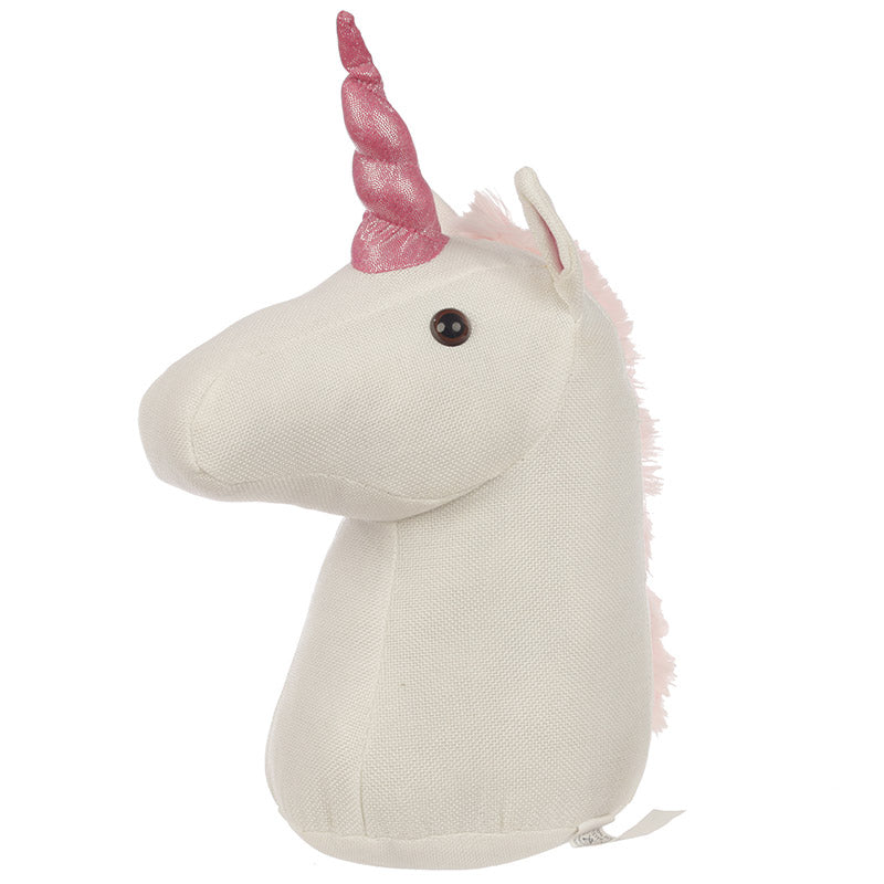 Cute White Unicorn Door Stop