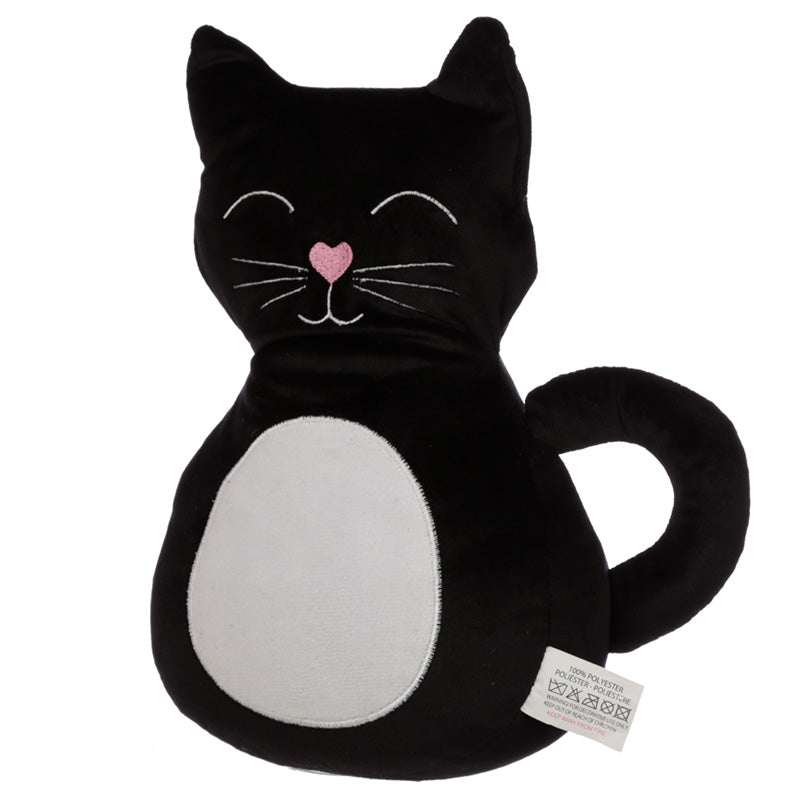 Cute Interior Black Cat Door Stop