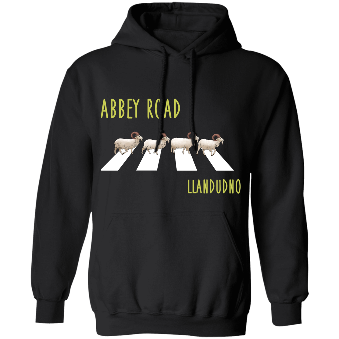 Abbey Road Goats Pullover Hoodie 8 oz.