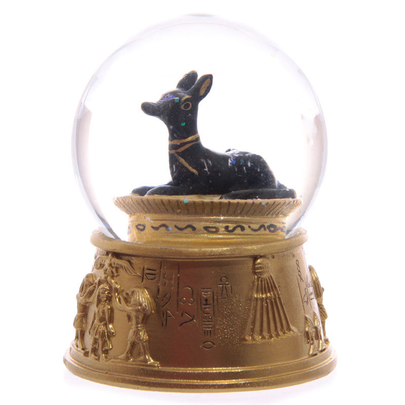 Decorative Gold Egyptian Waterball Snow Globe