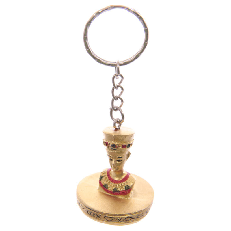 Decorative Gold Egyptian Keyring