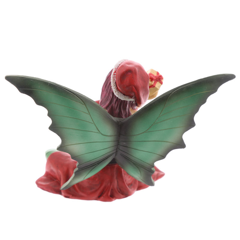 Decorative Fairy with Gift Christmas Figurine