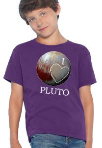 'I Love Pluto' Kid's T-Shirt