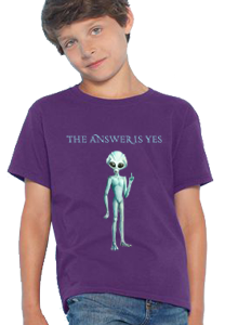 'The Answer Is Yes' Kid's T-Shirt