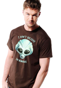 I Don't Believe In Humans Men's T-Shirt
