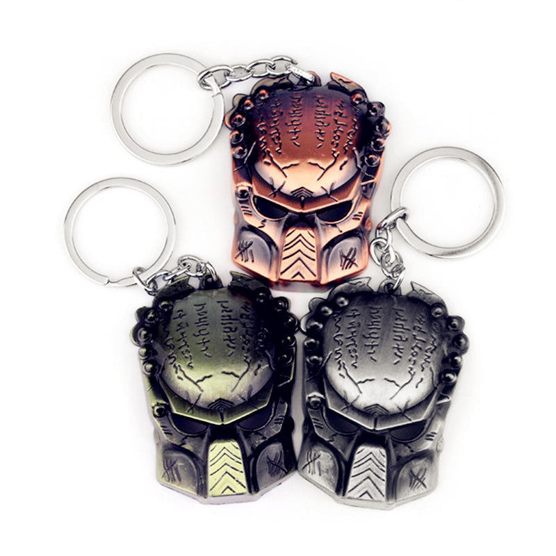 Aliens V Predator Key Rings/ AVP Key Rings/ Gift Chaveiro Car Keychain in Velvet Pouch