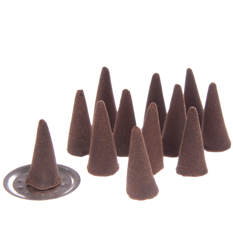 Stamford Hex Incense Cones - Red Rose
