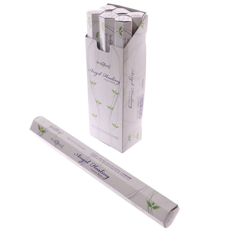 Angel Healing Stamford Hex Incense Sticks