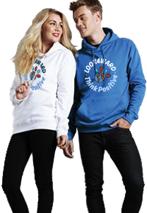 Look4ward, Think Positive Hoodie