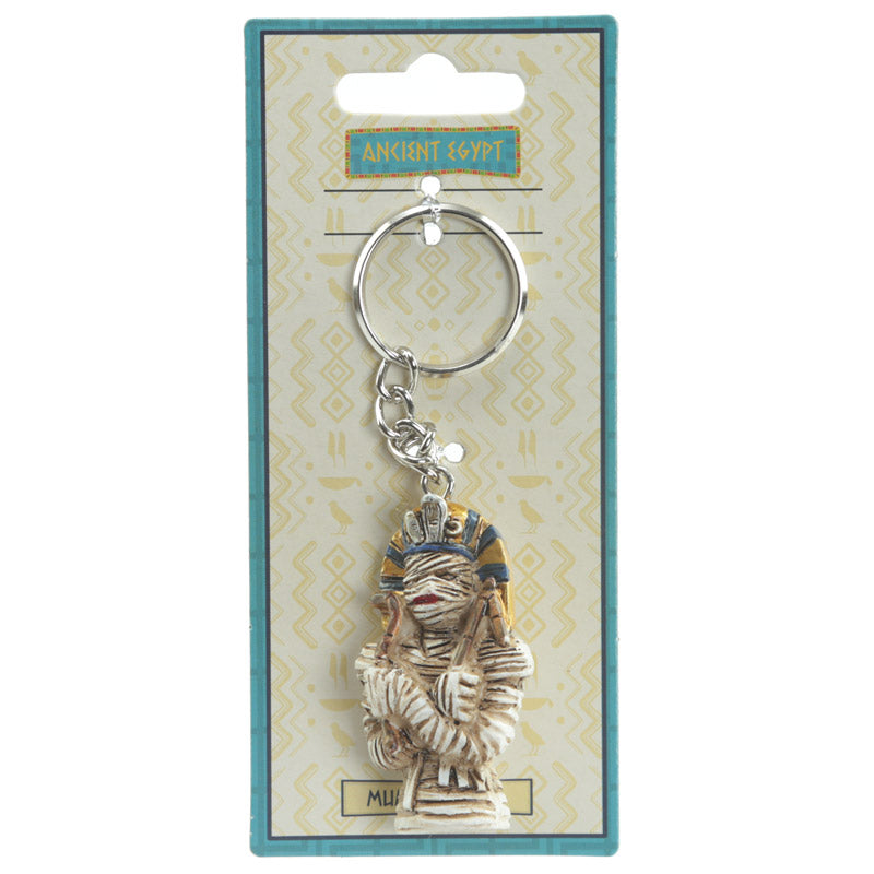 Decorative Mummy Egyptian Key Ring