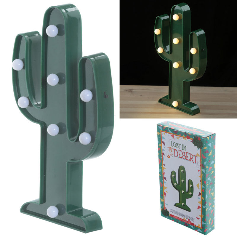 Decorative LED Light - Cactus