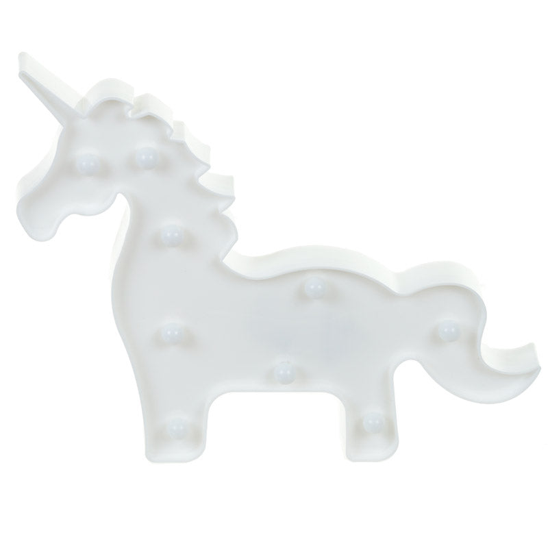 Decorative LED Light - Standing Unicorn