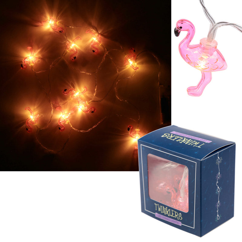 Decorative LED Light - Flamingo String (165cm)