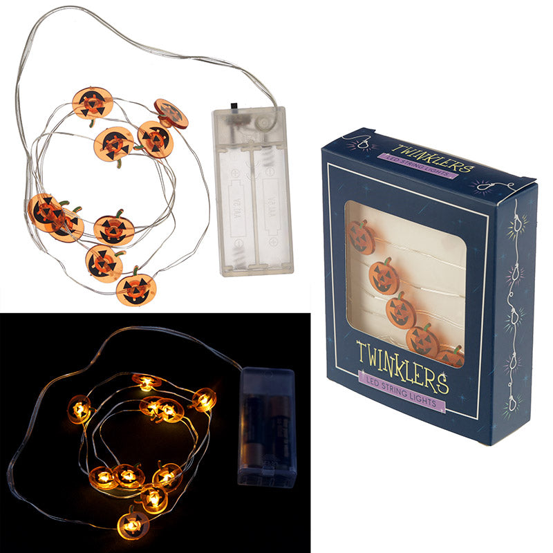 Decorative LED Light String - Halloween Pumpkins