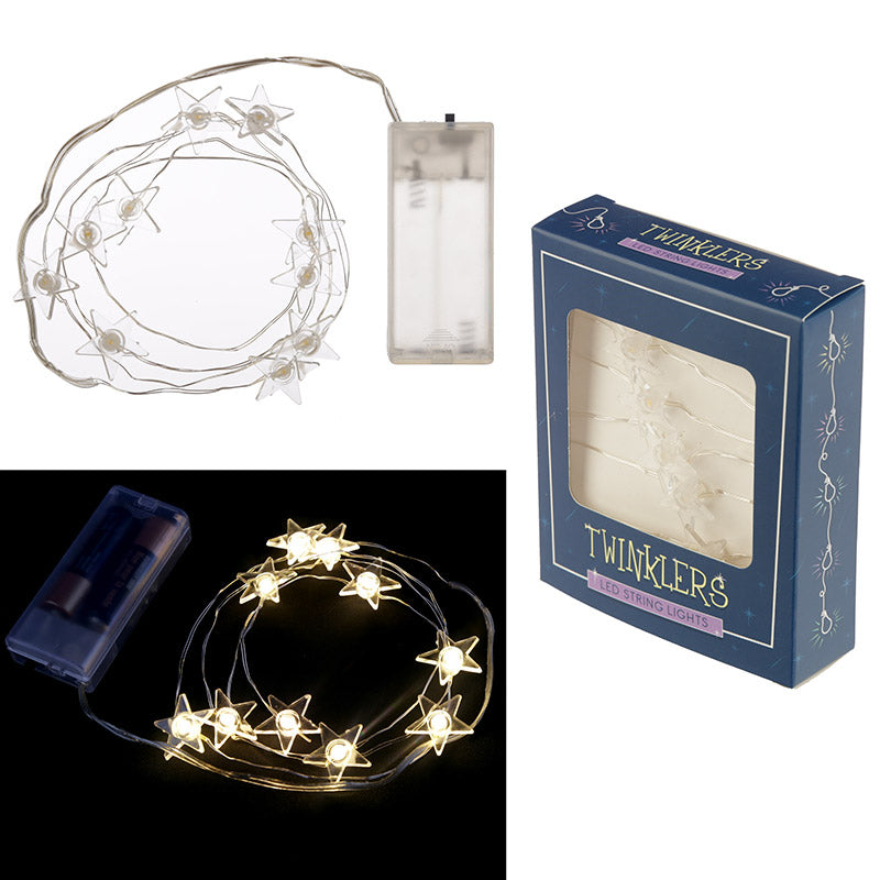 Decorative LED Light String - Stars