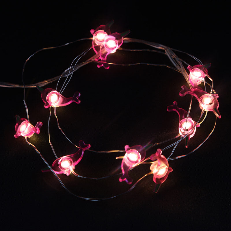 Decorative LED Light String - Narwhal