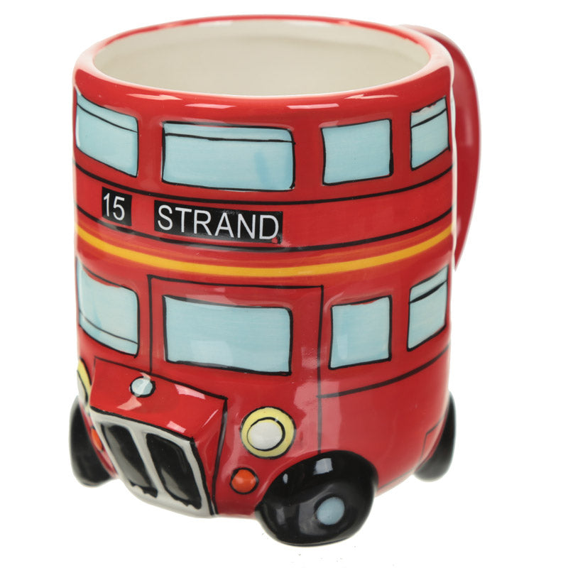 Fun Novelty Routemaster Red Bus Mug