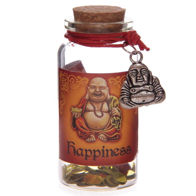Novelty Lucky Buddha Wishing Jar