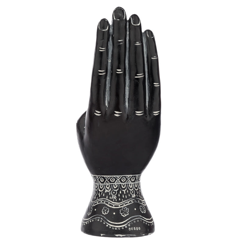 Decorative Mantra Buddha Hand Symbol meaning