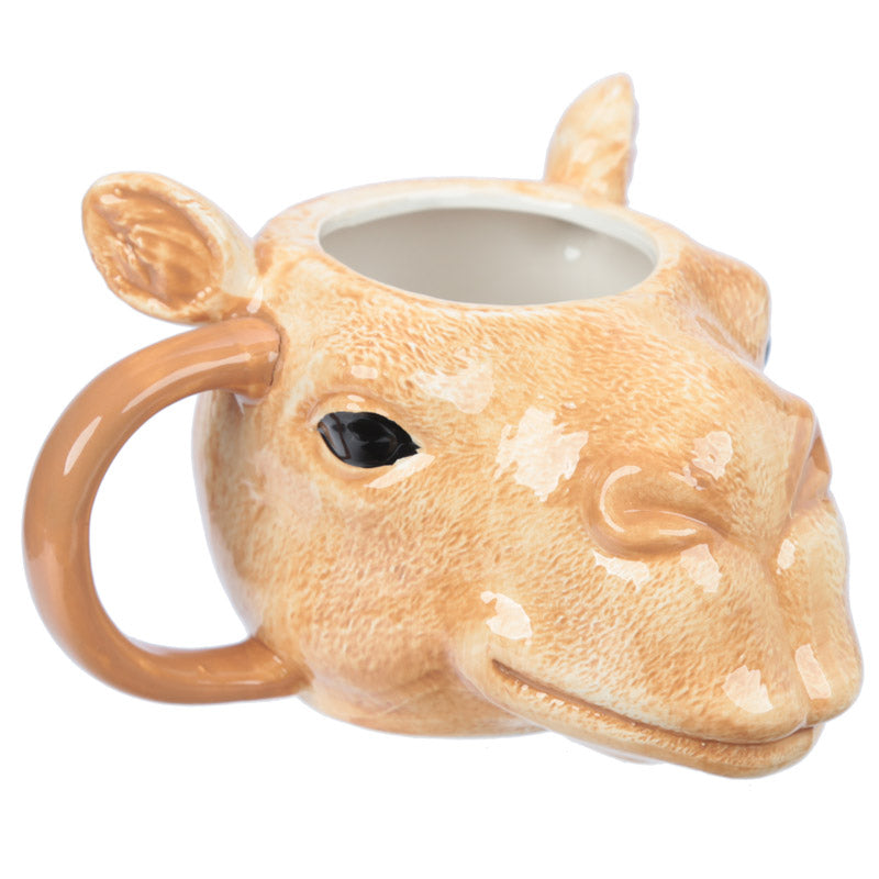 Ceramic Camel Head Collectable Mug