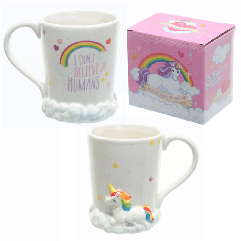 Ceramic Rainbow Unicorn Mug