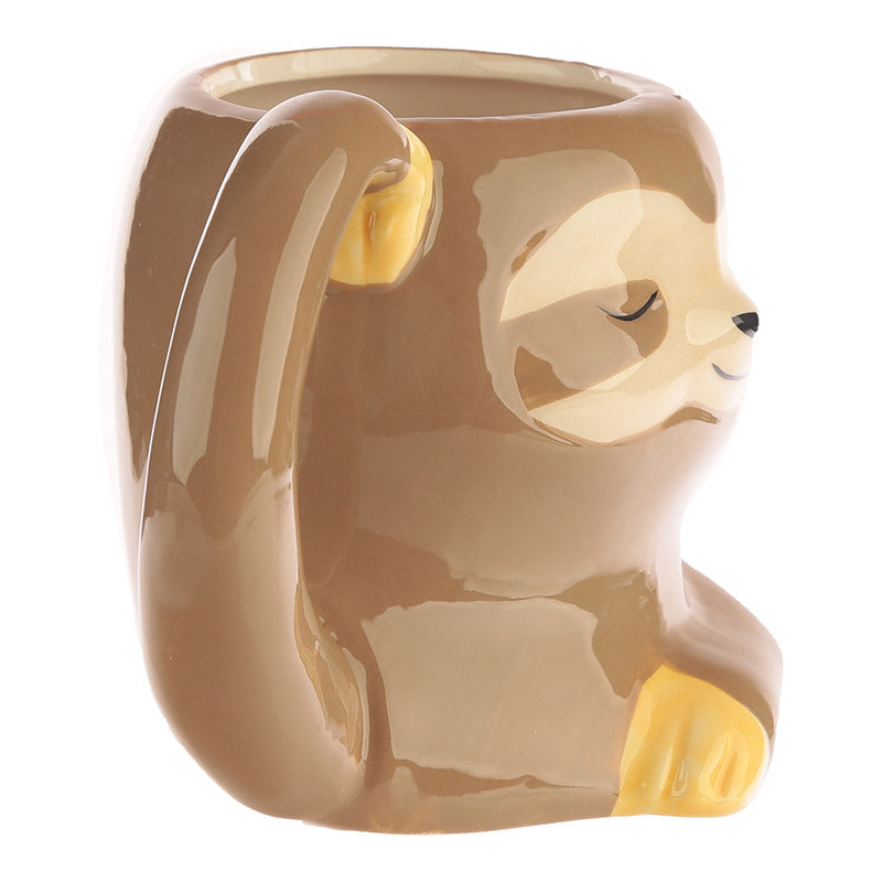 Cute Sloth Shaped Ceramic Mug